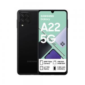 Galaxy A22 5G in Black