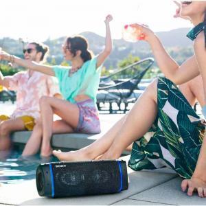 Sony SRS XB33 Extra Bass Wireless Speaker lifestyle image