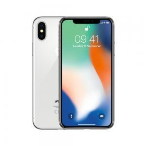 Apple iPhone X in silver